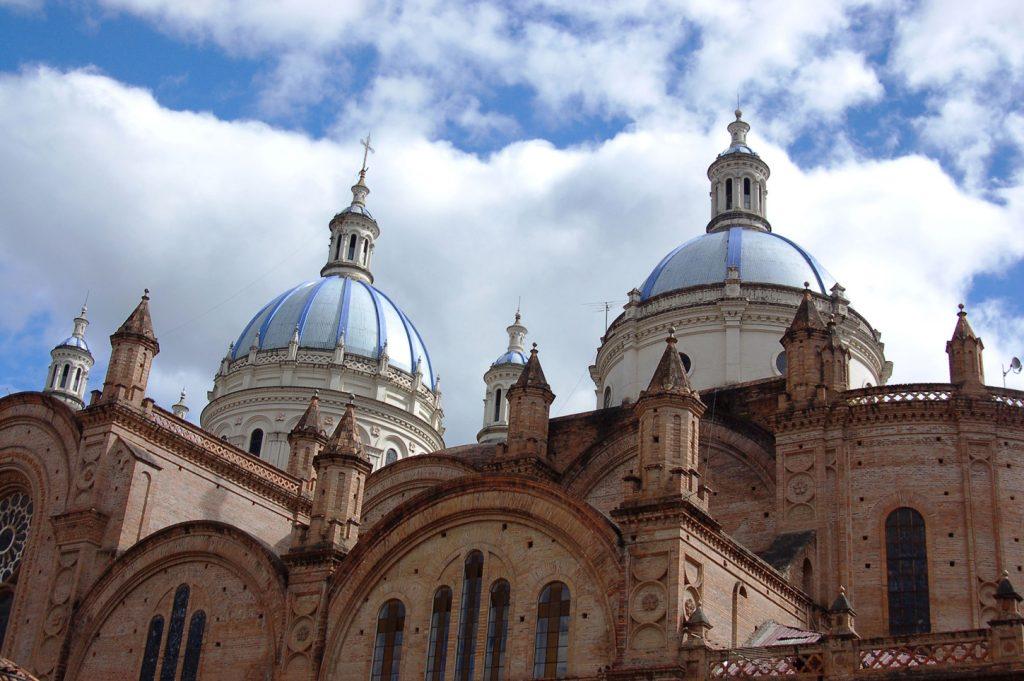 Colonial town of Cuena Ecuador