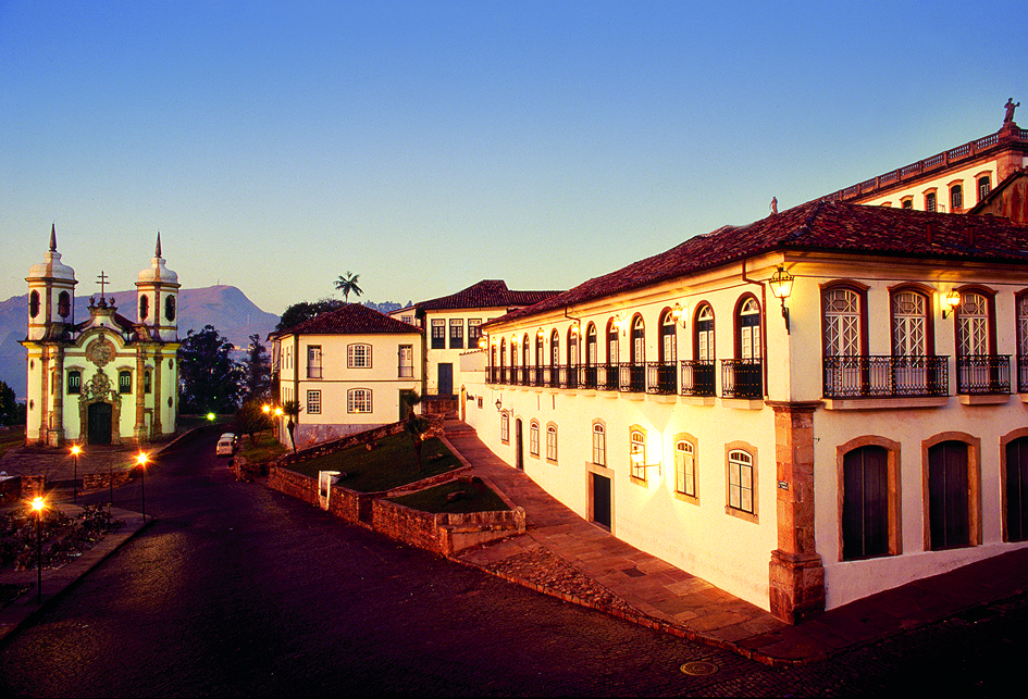 Ouro Preto a colonial town of Brazil