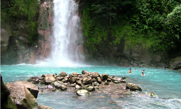 Rio Celeste in Costa Rica (click for more images)
